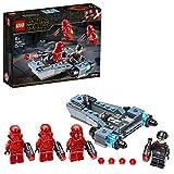 LEGO 75266 Star Wars Coffret de bataille Sith Troopers avec speeder, Collection du film L'Ascension de Skywalker