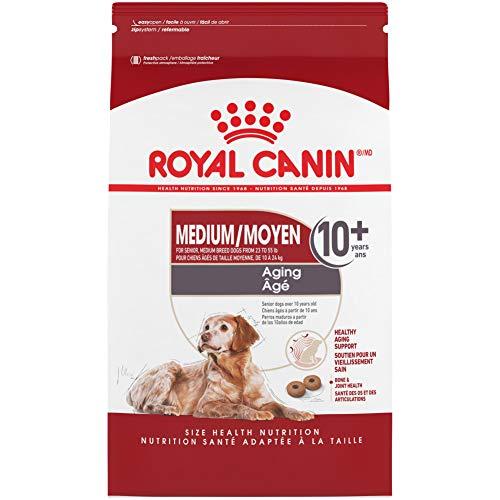Royal Canin Medium Aging 10+ Senior Dry Dog Food,...