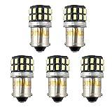 Bonlux 5-PCS 3W 12V BA9 BA9s Conduit H21W Ampoule LED Voiture 1445 1895...