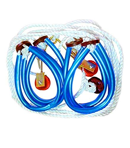 Top Hero Yoga and Gym Rope, (WB-Veda-6505, Multicolour)