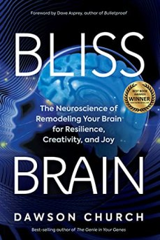 Bliss Brain is a Award Winner in the Science category of the 2020 Best Book Awards sponsored by American Book Fest Award-winning author and thought leader Dawson Church, Ph.D., blends cutting-edge neuroscience with intense firsthand experience to show you how you can rewire your brain for happiness-starting right now. Neural plasticity-the discovery that the brain is capable of rewiring itself-is now widely understood. But what few people have grasped yet is how quickly this is happening, how extensive brain changes can be, and how much control each of us has over the process.