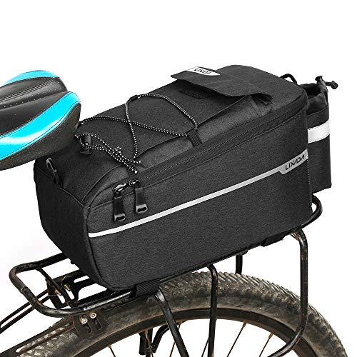 Lixada Fahrrad Gepäckträgertasche, Fahrrad Sitz Multifunktionale Isolierte Stammkühltasche,Umhängetasche, 29 * 16 * 17cm