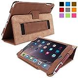 Snugg Flip Stand Case for Apple iPad Mini 4 - Brown