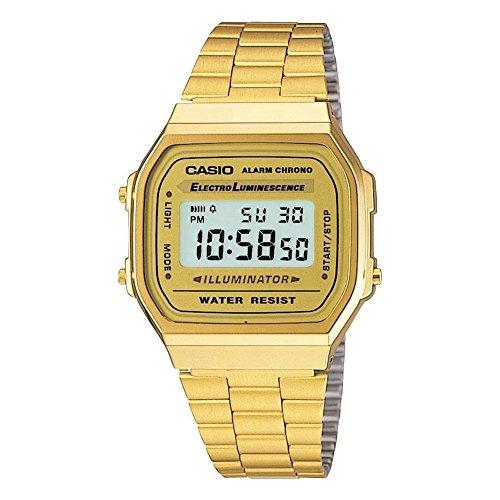 Casio Collection Unisex Retro Armbanduhr A168WG-9EF