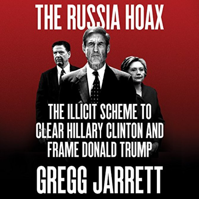 The Russia Hoax audiobook cover art