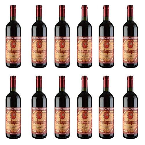 Vino Solopaca Rosso - Vinicola del Titerno (12 pezzi)
