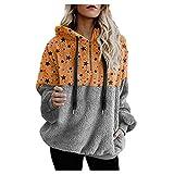 HJFR 2020 - Camiseta para mujer de manga larga para otoño e invierno gris M