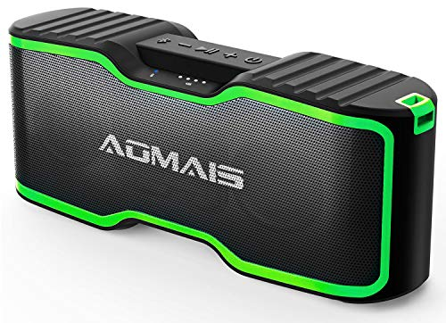 AOMAIS Sport II+ Bluetooth Speakers, Portable Outdoor Wireless Speaker, 30H Playtime, 20W HD Stereo Sound & Richer Bass, IPX7 Waterproof, 100ft Bluetooth for Travel, Party, Beach2019 Upgrade Version