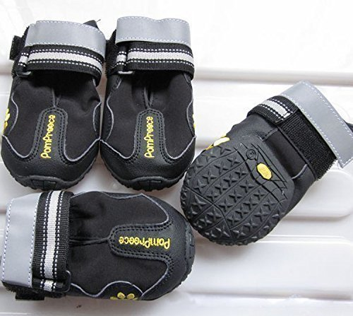 Colorfulhouse Waterproof Pet Boots for Medium to...