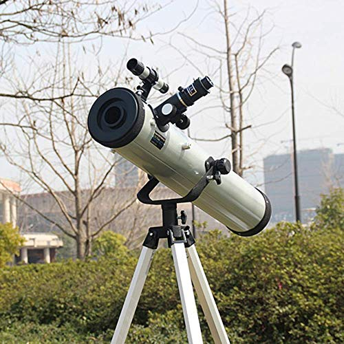 F70076TX Reflective Astronomical Telescope is Like a Suitcase HD high-Powered World for Astronomy JIAJIAFUDR