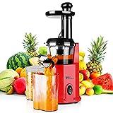 Amzdeal Extracteur de Jus - 200W Extracteur à Jus de Fruits et Legumes...
