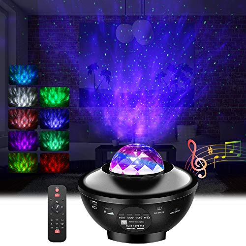 GoLine Galaxy Star Projector with Remote Control