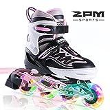 2PM SPORTS Cytia Taille réglable Roller Enfant Fille lumière LED Roues,...