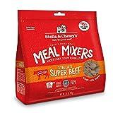 Stella & Chewy's Freeze-Dried Raw Stella's Super Beef Meal Mixers Dog Food Topper, 3.5 oz. Bag (FDBM-3.5)