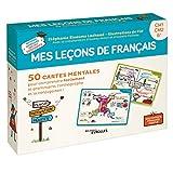 Mes leçons de français: 50 cartes mentales pour comprendre facilement la grammaire,...