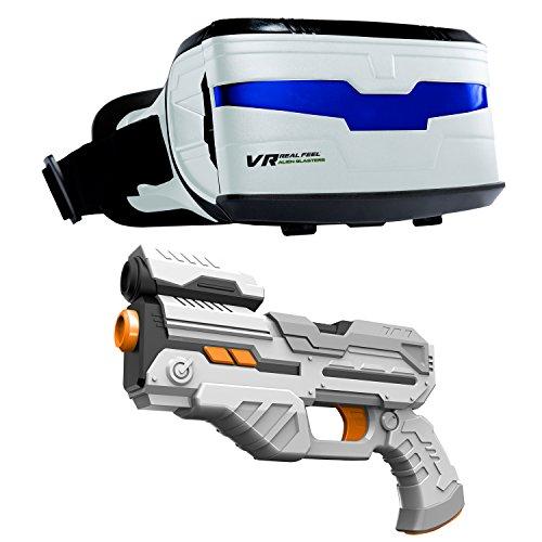 VR Entertainment- Real Feel Alien Blasters Giocattolo, 63737
