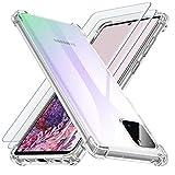 Losvick Coque pour Samsung Note 10 Lite, Coque pour Galaxy A81, 2X Verre Trempé...