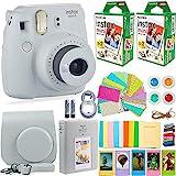 Fujifilm Instax Mini 9 Instant Camera + Fuji Instax Film (40 Sheets) + DNO Accessories Bundle -...