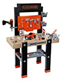 Smoby - BLACK+DECKER - Etabli Bricolo Center - Jouet Bricolage Enfant - 92...