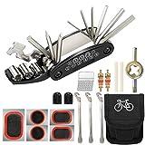 Tagvo Trousse d'outils de vélo,16 en 1 Ensemble Bicyclette...