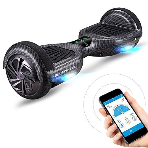 """6.5\"""" Premium Hoverboard Bluewheel HX310s -Deutsche Qualitäts Marke - Kinder Sicherheitsmodus & App - Bluetooth Lautsprecher - Starker Dual Motor - LED - Elektro Skateboard Self Balance Scooter"""