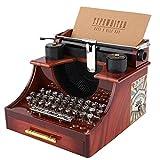 Duokon Vintage Style Machine à écrire mécanique boîte à Musique Cadeau...