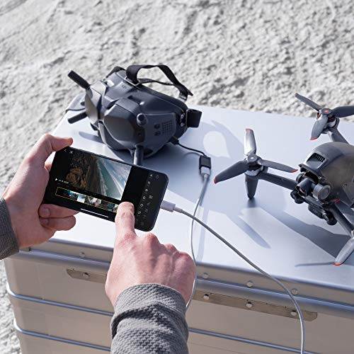 Product Image 7: DJI FPV Combo - First-Person View Drone UAV Quadcopter with 4K Camera, S Flight Mode, Super-Wide 150° FOV, HD Low-Latency Transmission, Emergency Brake and Hover, Gray