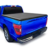 Tyger Auto T1 Soft Roll Up Truck Bed Tonneau Cover Compatible with 2015-2022 Ford F-150   Styleside 5.5' Bed (66')   TG-BC1F9029 , Black