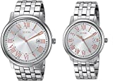 GUESS Men's & Women's Stainless Steel Casusal Watch, Color: Silver-Tone (Model: U0740P2)