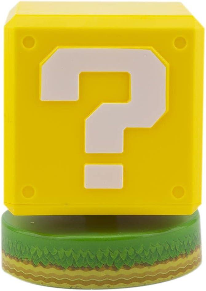 Super Mario Lámpara Bloque de Pregunta, Multicolor