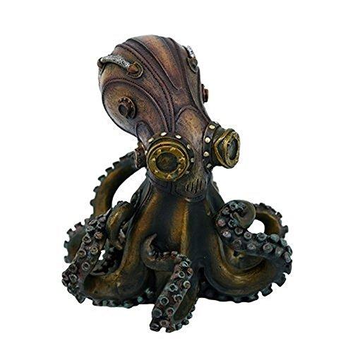 Steampunk Octopus Collectible Figurine (Kitchen & Home)