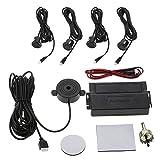 KKmoon - Kit d'aide au stationnement pour voitures (alarme + 4 capteurs) Tipo...