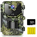 1520P 20MP Trail Camera, Hunting Camera with 120°Wide-Angle Motion...