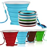 AVALEISURE Collapsible Travel Cup -...