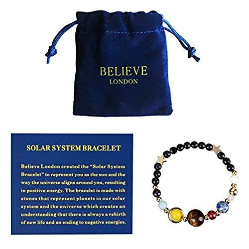 Believe London Solar System Bracelet (7 Inch)
