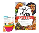 Joie Silicone Baking Cups Bundle with The'I Love My Air Fryer' Keto Diet Recipe Book: from Veggie Frittata to Classic Mini Meatloaf, 175 Fat-Burning Keto Recipes Paperback