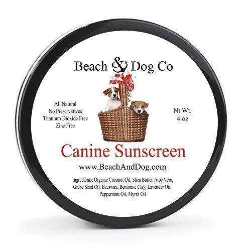 Beach & Dog Co Canine Sunscreen - Zinc and...