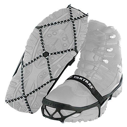 YakTrax Unisex-Adult PRO Schuhkrallen & Eisspikes, Silber, 38 EU