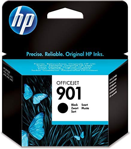 HP 901 CC653AE Cartuccia Originale da 200 Pagine, Compatibile con le Stampanti Officejet All-in-One 4500, J4580 e J4680,...