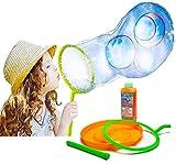 Toyland® Giant Bubble Making Kit / Bubble Blower / Solution - Create Huge Bubbles - Outdoor Toys - Garden Games (Bubble Kit)