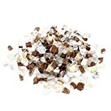 Stanbroil 10-Pound 1/2 Fire Glass Blended Gold,Platinum,Copper Refective for Indoor and Outdoor Gas Fire Pits and Fireplaces