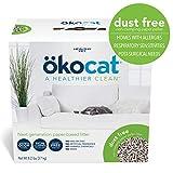 ökocat Natural Paper Cat Litter, Dust Free (Package may vary), Medium