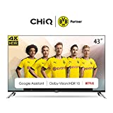 CHiQ 43 Pouces,Android 9.0,Smart TV, U43H7A, UHD, 4K, WiFi, Bluetooth,...