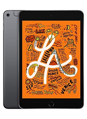 Apple iPad Mini (Wi-Fi + Cellular, 256GB) - Space Gray (Latest Model)