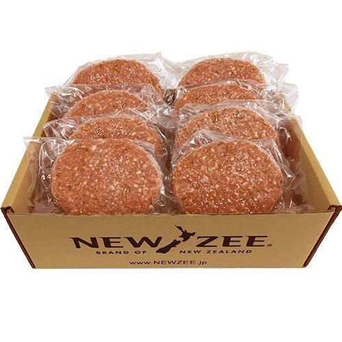 NEWZEE ハンバーグ パティ 【100%ニュージーランド産牛肉】 150g×8枚 (合計1.2kg) 【冷凍】 - NEWZEE [100...