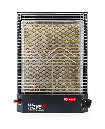 Camco 57341 Olympian Wave-6 6000 BTU LP Gas Catalytic Heater