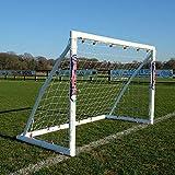 Samba 6ft x 4ft Locking Goal - Portable Garden Football Goal Posts
