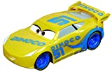 Carrera 64083 GO!!! Disney/Pixar Cars 3 Dinoco Cruz Slot Car Racing Vehicle,Multi