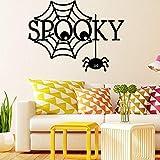 Papier peint Halloween stickers muraux étranges araignées autocollants enfants chambre...