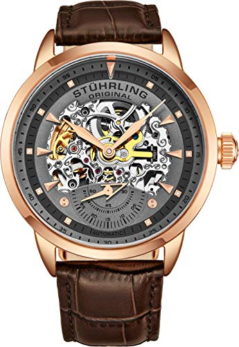 Stuhrling Original Herren Armbanduhr Aristocrat Analog Automatik 133.3345K54